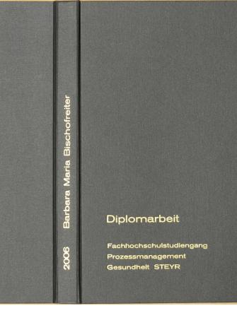 Diplomarbeiten Und Dissertationen Mit Besonderen